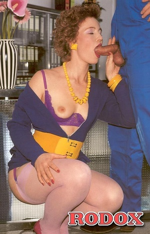 Vintage porn. Vintage red haired lady ge - XXX Dessert - Picture 5