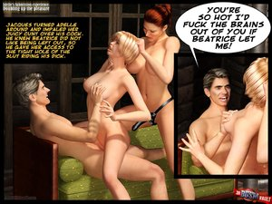 Nasty couple bdsm cartoons