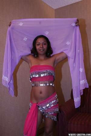 Small tits indian curry creampie