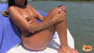 American tall slim legs brunette