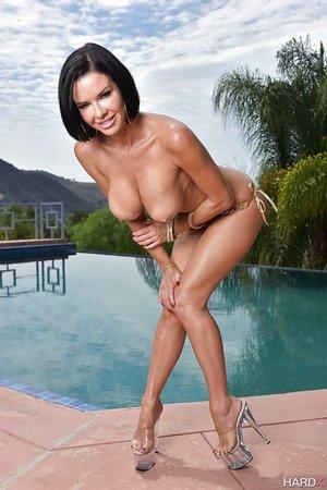 Beautiful mature bikini