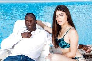 French interracial big tits bikini