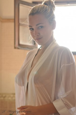 Wet blouse
