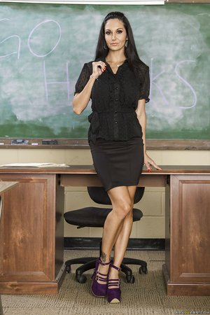 French horny lesbian teacher