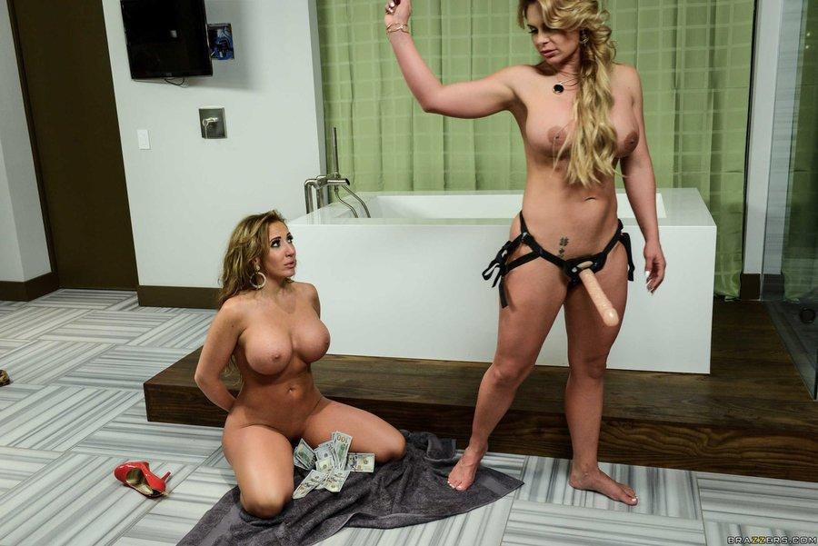 Big Ass Milf Lesbian Strapon
