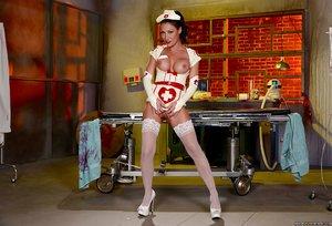 Big boobs lesbian nurse - XXXonXXX - Pic 9