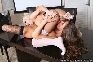 American lesbian strapon stockings - XXXonXXX - Pic 13