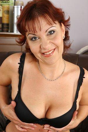 Playful mom big tits