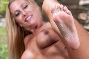 Mature big tits soles