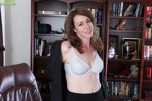 Brunette sexy bra