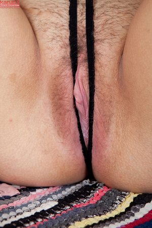 Tight crotchless panty