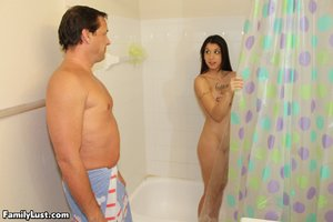 Step dad shower