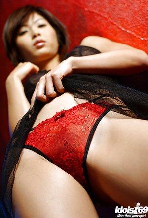 Seductive japanese big tits