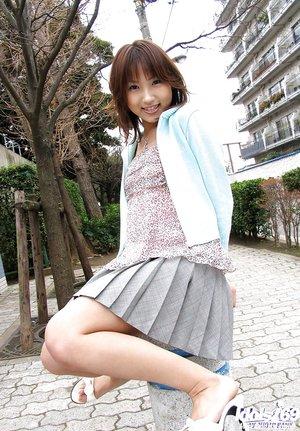 Amateur tiny japanese