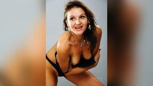 Real webcam striptease