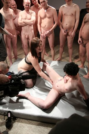 German european creampie gangbang