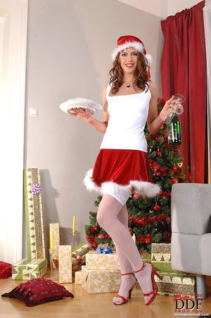 Czech christmas anal
