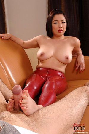 Big tits japanese foot fetish