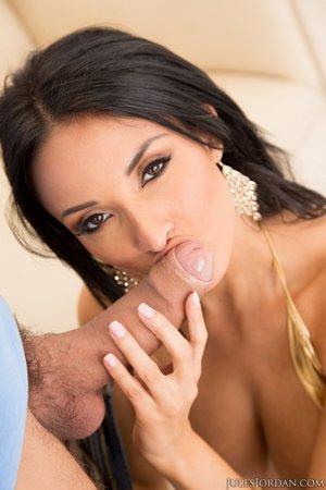 French busty latina
