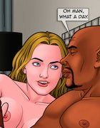 Black stud loves the way his lady's ass feels. Bad Lieutenant 7 Whored
