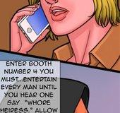 Curious blonde enters an adult boutique. Bad Lieutenant 7 Whored Heiress
