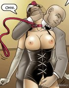Slave's new master grabs at her goodies. For Rent By Erenisch.