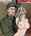 Gagged sluts are part of a military battle. SS Prison Hell 2 By Roberts.