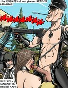 Gorgeous slaves are playthings for soldiers. SS Prison Hell 2 By Roberts.