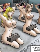 Beautiful babes go through slave training. The Society 2 Purgatory By