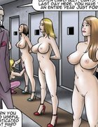 Big-titted slaves know it's best to obey. The Society 2 Purgatory By