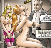 Sexy slave's sensitive nipple is pinched. The Society 2 Purgatory By