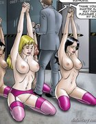 Submissive slaves are trained and bound. The Society 2 Purgatory By Erenisch.