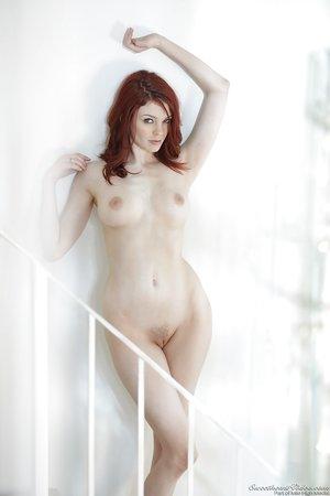 Gorgeous pale redhead