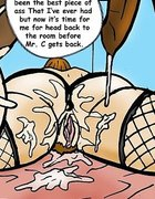 Massive ass creampie for an unfaithful wife