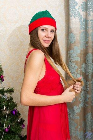 Ukrainian slim sexy christmas