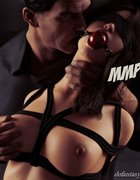 Evil man shoves his rod in a bound and gagged whore. Private Dick 2 By