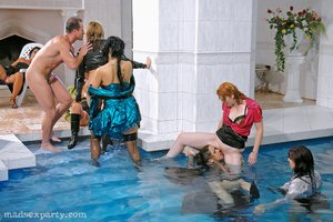 Cfnm pool party