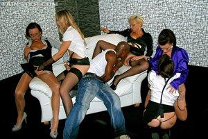 Interracial czech party