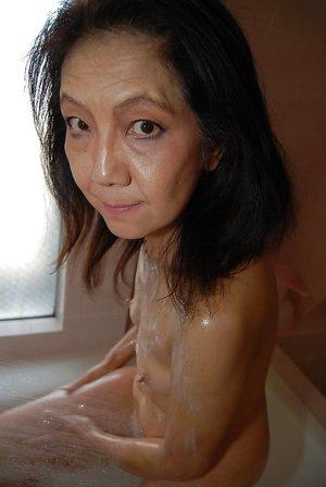 Wet asian mom