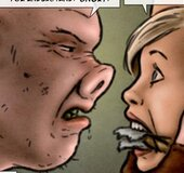Pig-nosed brute ties up a vulnerable blonde. Breeders: The Next Generation