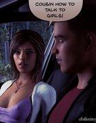 Disrespectful teen cousin gets scolded on road trip. Kayla'S Summer Break