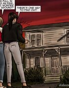 Sexy friends visit a home from their youth. Trick And Treat By Slasher.