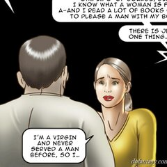 Dame confesses she's a virgin to - BDSM Art Collection - Pic 3