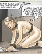 Saddened slave deeply regrets her Master match. The Date With Fate By