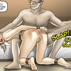 Slave's butt turns color when - BDSM Art Collection - Pic 1