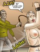 Slave must thank her Master for a rough whipping. The Date With Fate By