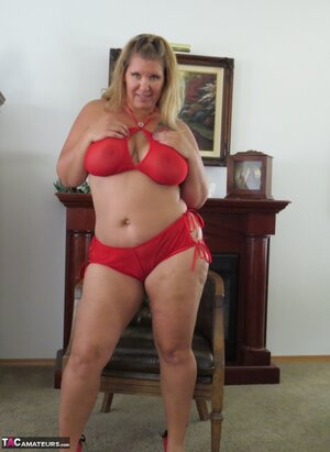 American amateur fat mature
