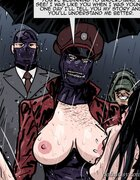 Bound BBW takes a massive whipping. Prison Horror Story 9 By Predondo.
