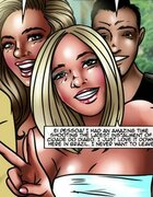 Party girls go wild with excitement. Cidade Do Diabo 3 By Lesbi K Leih