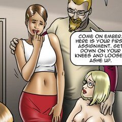 Artist must give up her body for a new - BDSM Art Collection - Pic 3